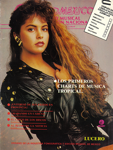 Lucero revista Disco Mexico